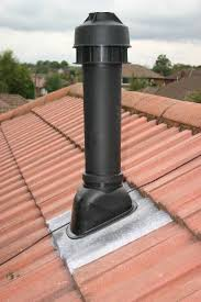 New flue for boiler